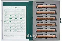 KATO N gauge Series 781 6-car set 10-1327 Model Train