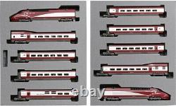 KATO N gauge Thalys Painted 10car Set 10-1657 Model Train 20th Anniversary