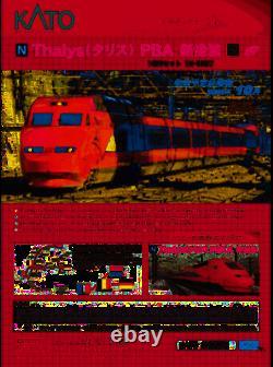 KATO N gauge Thalys Talis PBA new paint 10-car set 10-1657 model train Pre