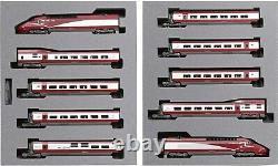 KATO N gauge Thalys Thalys PBA new paint 10-Car Set 101657 model railroad train
