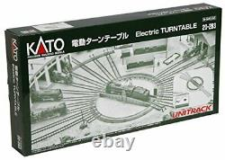 Kato N Gauge 20-283 UNITRACK Electric Turntable Model Train Railroad