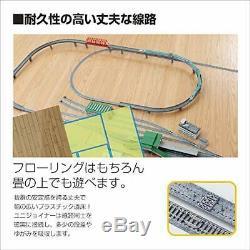 Kato N Gauge 20-853 UNITRACK Set Basic Oval & Passing Track Set Model Train