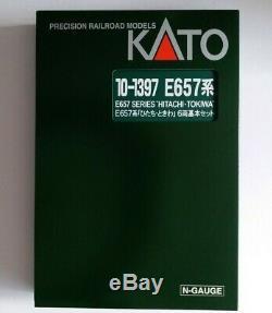 Kato N gauge 10-1397 E657 Series HITACHI-TOKIWA, 6-Car Set, model train