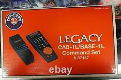 LIONEL LEGACY CAB-1L/BASE-1L COMMAND CONTROL SET O GAUGE train TMCC 6-37147 NEW