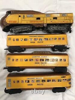 LIONEL Model TRAIN Railroad Union Pacific CITY OF PORTLAND STREAMLINER O Gauge