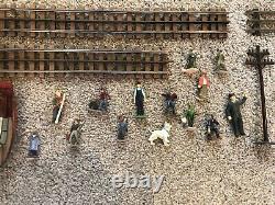 LIONEL O GAUGE 36 16 10 STRAIGHT & Curved Model Railroad Train Track Figures
