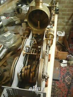 LIVE STEAM 3 1/2 3.5 inch GAUGE MAISEY LOCO Model engineering steam train Leeds