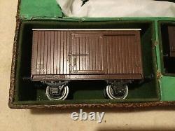 Leeds Model Railway O gauge Goods Train set, tank engine, wagons & track