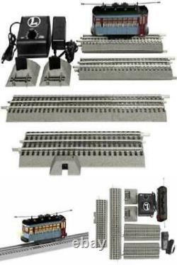 Lionel Model Train O Gauge Polar Express Trolley Set Electric Set Track Control