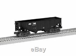 Lionel Norfolk Southern Hopper, Electric O Gauge Model Train Cars, 6-Pack