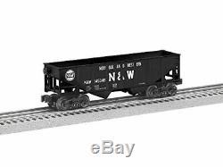 Lionel Norfolk & Western Hopper, Electric O Gauge Model Train Cars, 6-Pack