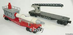 Lionel O Gauge Scale Model Train Cars Rocket Capsule Launcher Ladder Caboose