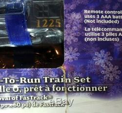 Lionel Polar Express Electric O Gauge Model Train Set Remote BT Some Box Damage