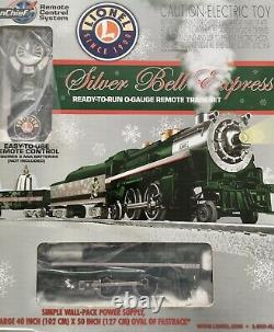 Lionel Silver Bell Express Ready To Run O-Gauge Remote Train Set Model 6-30205