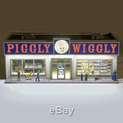 Menards O Gauge Piggly Wiggly Grocery Store Building model train