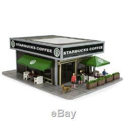 Menards O Gauge Starbucks Coffee Shop Building model train