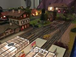 Model diorama railways&trainsho gauge