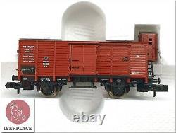 N 1160 Scale Model Locomotive Trains Wagons Fleischmann 7886 Train-Set