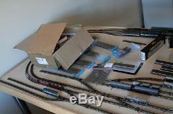 N Gauge DCC Model Railway Layout, with Trains and Controller