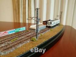 N Gauge Diorama Handmade Train Model Miniature Hobby Toy Kato Tomix Japan FS