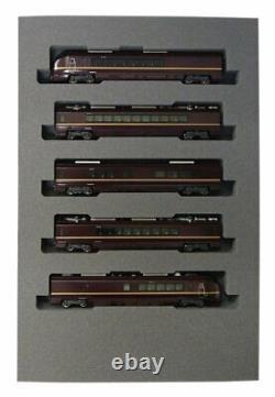 N Gauge E655 System Nagomi Sum 5-Car Set 10-1123 Model Railroad Train KATO NEW