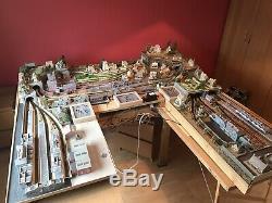 N Gauge Model Train Set Layout