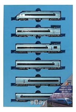 N Gauge Odakyu Romance Car 60000 MSE Improvement Basic 6Car Set Train Model 621