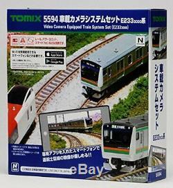 N gauge vehicle camera system set E233 3000-based 5594 model railroad train
