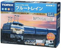 NEW TOMYTEC 90179 N Gauge Basic Set SD Blue Train 90179 Model Train