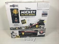 New-Open box-Lionel Mickey Celebration, Electric O Gauge Model Train Set
