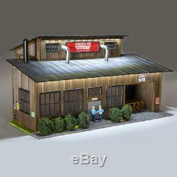 O Gauge Menard Model Train Multi-Sign/Purpose Building For Lionel & MTH