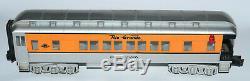 O Gauge Model Train MTH Rail King Rio Grande Steam Engine Tender & Passenger Set