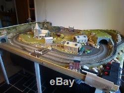 OO Gauge Pre-Built Model Train Track