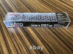 Orient Express 1988 Model Train KATO 2016-2 N Gauge D51 498 Steam Locomotive