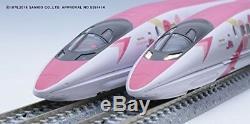 PSL Hello Kitty Sanyo Shinkansen TOMIX N Gauge JR 500 7000 Car Set Train Model