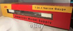 Rare AMS AM30-060 Idler Flat Car Narrow Gauge 120.3 Model Train Car MIB Tr21