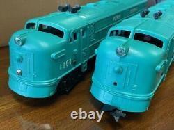 Rare Marx 4000 Penn Central Diesel Model Train O-Gauge in Original Box 1971-74