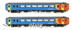 Realtrack Models'oo' Gauge 156-118 East Midlands Train Class 155 156410 Dmu Set