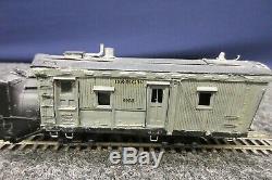 Rio Grande Rotary OM D&RGW Train Car N-Scale Gauge Snow Plow Tender Wood Model