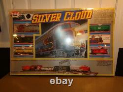 SEALED NEW Model Power Silver Cloud Electric Train Set HO Gauge With Track