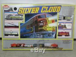 Silver Cloud MOPAR EXPRESS Train Set, HO Gauge, Mint in Sealed Box, Model Power