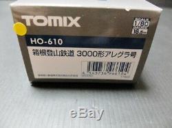 TOMIX HO gauge Hakone Tozan 3000 form HO-610 model railroad train F/S From Japan