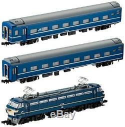 TOMIX N Gauge EF66 Blue Train Set 3-Car 92332 Model train Passenger car