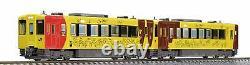 TOMIX N Gauge Kiha 100 Form Pokemon with YOU Train Set 2 Cars 98060 Model Diesel