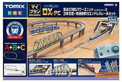 TOMIX N Gauge My Plan DX-PC F 90951 Model Train Rail Set