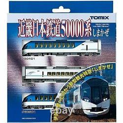 TOMIX N Gauge Nippon Railway 50000 series Shimakaze Basic Set 92499 Model Train