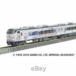 TOMIX N Gauge Series 281 Hello Kitty Haruka Butterfly Set Model Train 98674