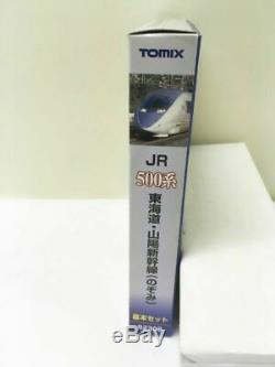 TOMIX N Gauge Series 500 Shinkansen Nozomi Basic Set 3 Cars 92306 Model Train JP