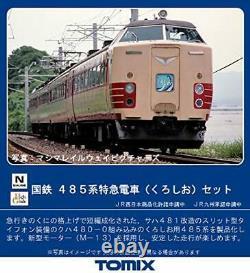 TOMIX N gauge 485system Limited Express Train Kuroshio 4cars 98384 Model Train