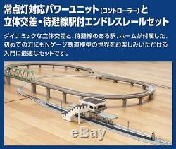 TOMIX N gauge My plan DX-PC F 90951 Model Train Rail Set 90951 Track layout ABC